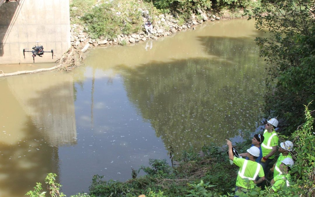 MEC Partners with UMKC to Collect Bridge Inspection Data with Tethered Drone