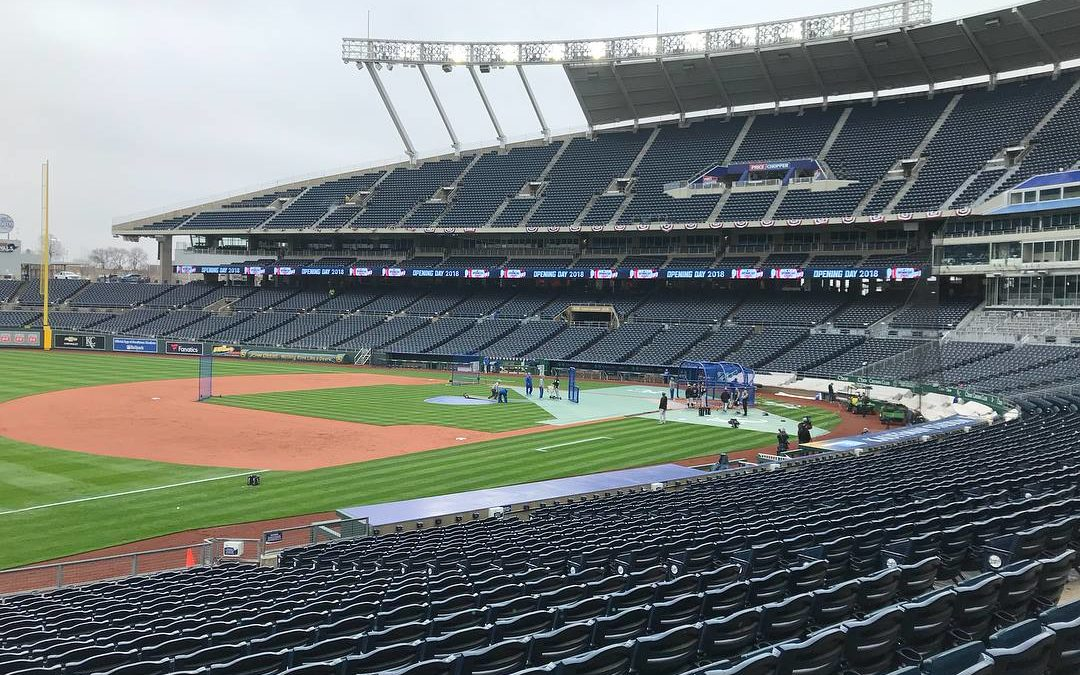 Kauffman Stadium Switches to LED Lights with MEC's Assistance
