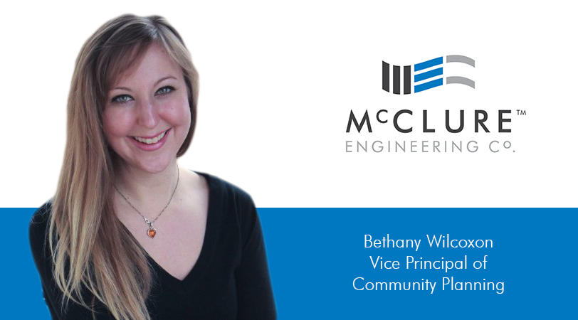 Bethany Wilcoxon joins McClure Engineering Company as Vice Principal of Community Planning