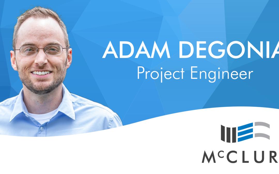 Adam DeGonia Joins McClure