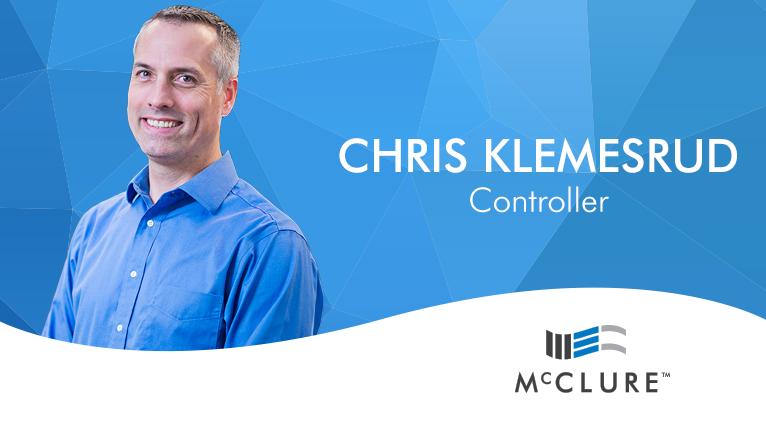 Chris Klemesrud joins McClure