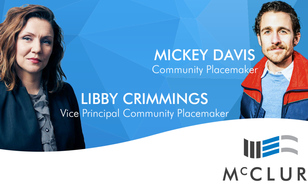 Libby Crimmings and Mickey Davis join McClure