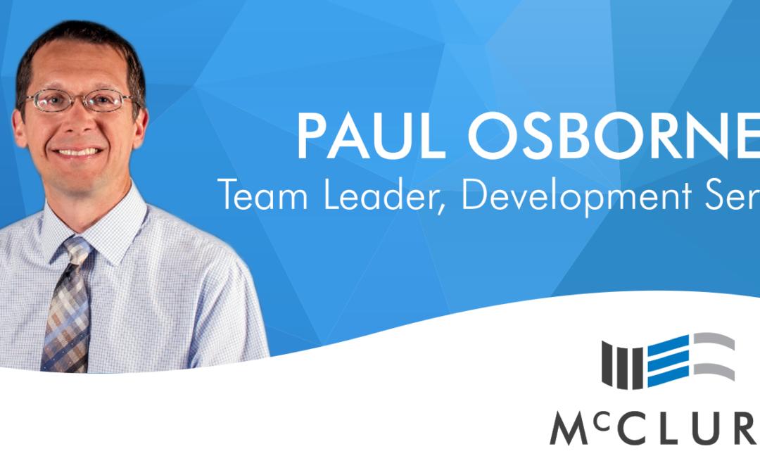 Paul Osborne joins McClure