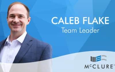 Caleb Flake Joins McClure