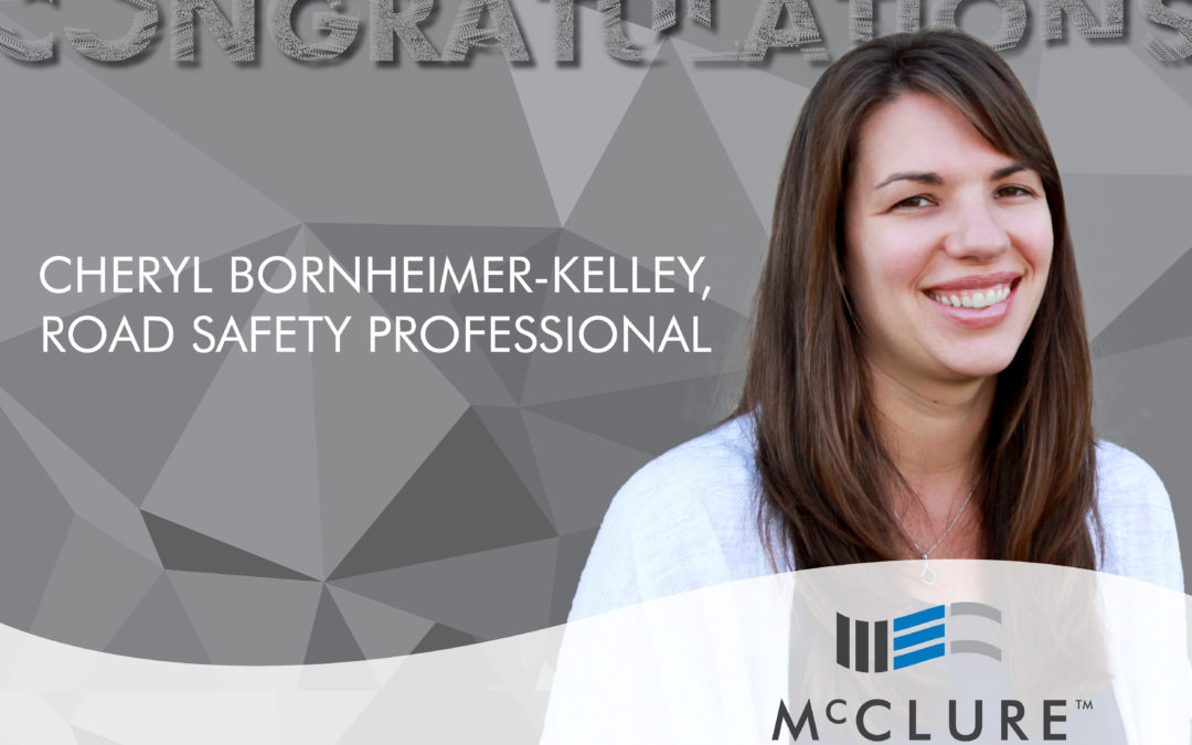 Cheryl Bornheimer-Kelley Earns Road Safety Professional Certification