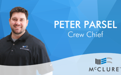 Peter Parsel Joins McClure