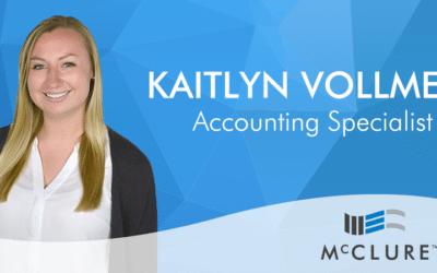 Kaitlyn Vollmert Joins McClure