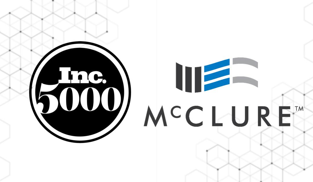McClure Climbs in Inc. 5000 Rankings